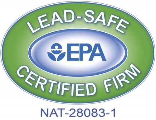 EPA Lead Safe Certificate for Charlotte based licensed contractors, Palmer Custom Builders