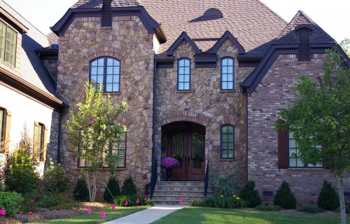 Custom built home built with proper attic ventilation