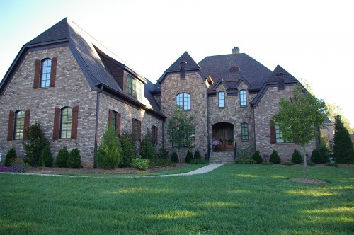 Palmer Custom Builders custom built this Tuscan style home in Waxhaw, NC.