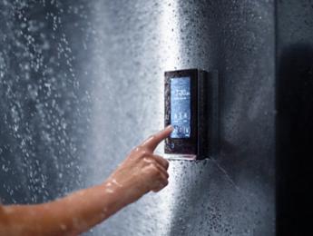 Master Bathroom Renovation Digital Shower Temperature Controller