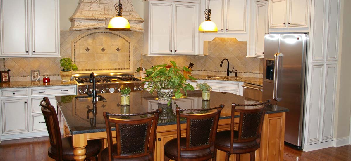 Kitchen remodeling – Interior photo of a brand new custom kitchen remodel and renovation for client in Charlotte, NC