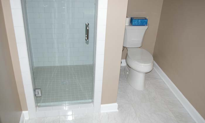 Charmant Photo Of Completed Bathroom Remodeling Project In Charlotte, NC