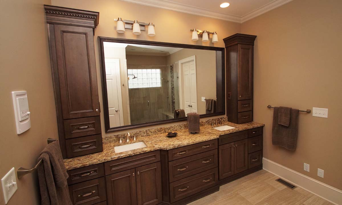 Picture of recently remodeled bathroom in Charlotte, NC