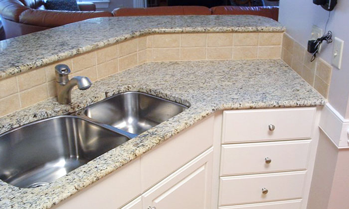 This is the after picture of a kitchen remodel done by Palmer Custom Builders