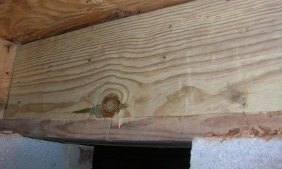 After band sill repair