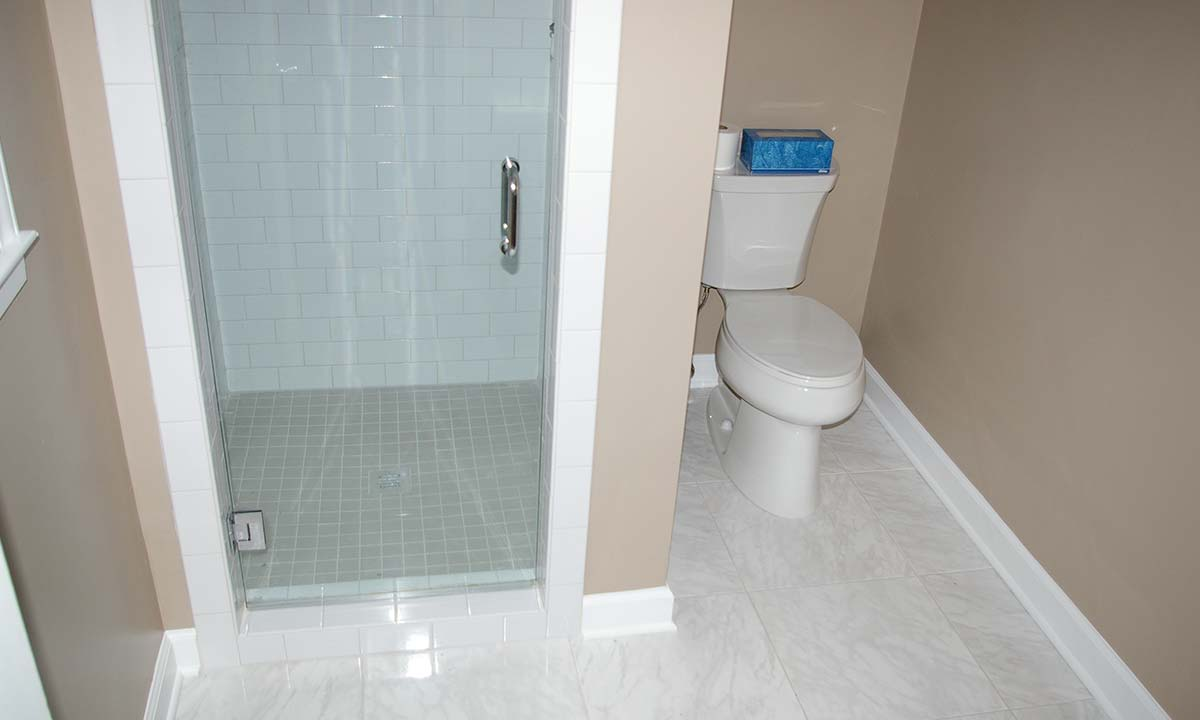 Bathroom upgrade and renovation complete picture