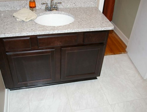 Bathroom upgrade and renovation