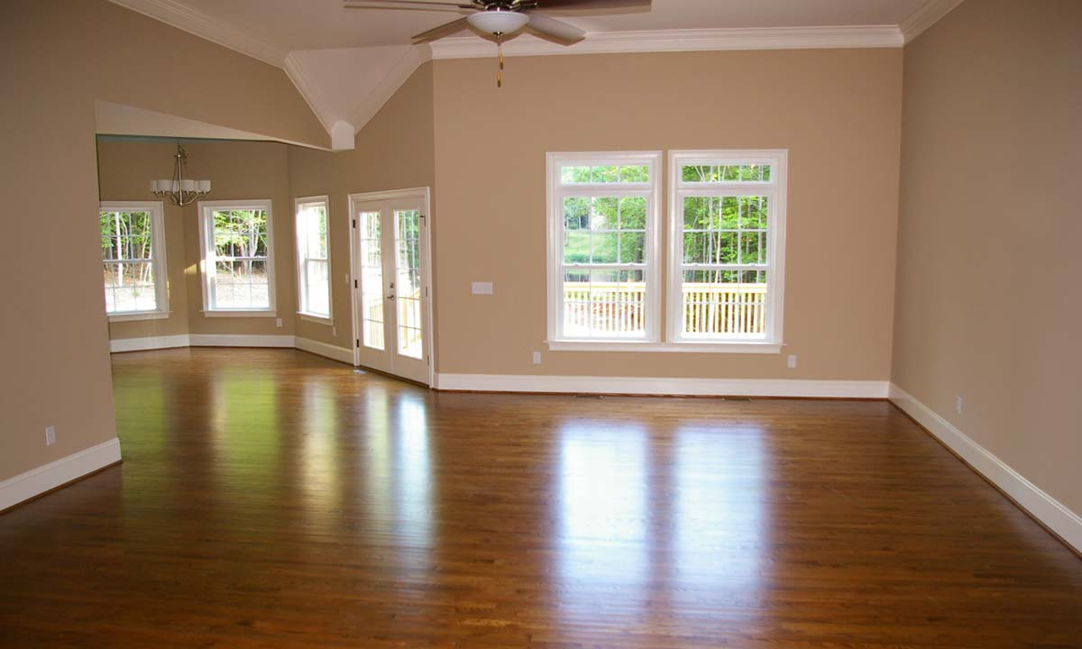 Photo of the interior space of home