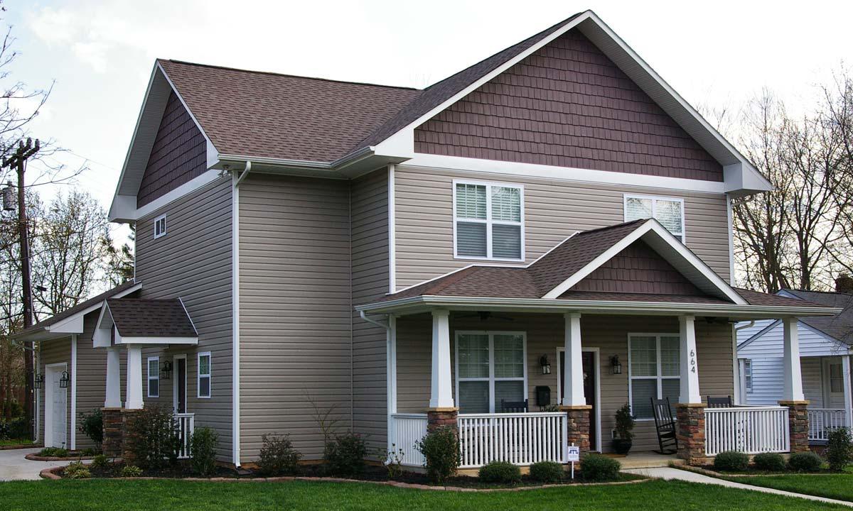 Craftsman style custom home palmer custom builders for Craftsman custom homes