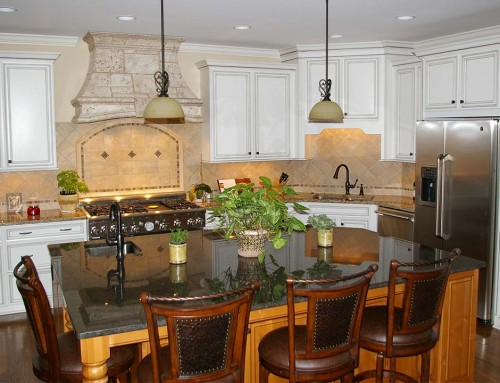 Dated kitchen remodel