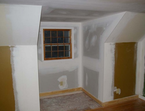 Dormer renovation