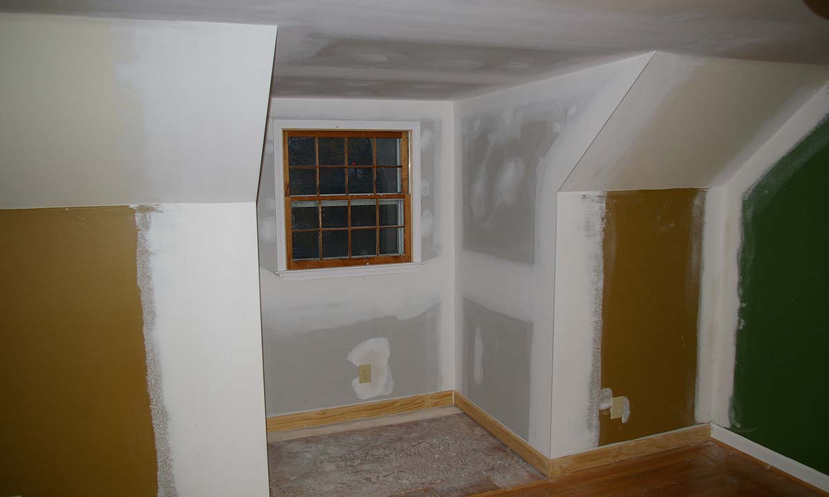 During dormer renovation – Convert to true dormer for extra space and light