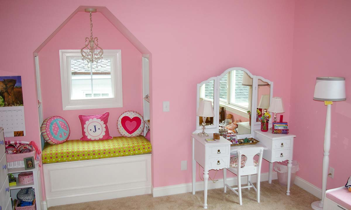 After home addition - photo of playroom