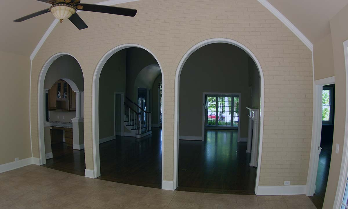 Interior photo of home after the addition