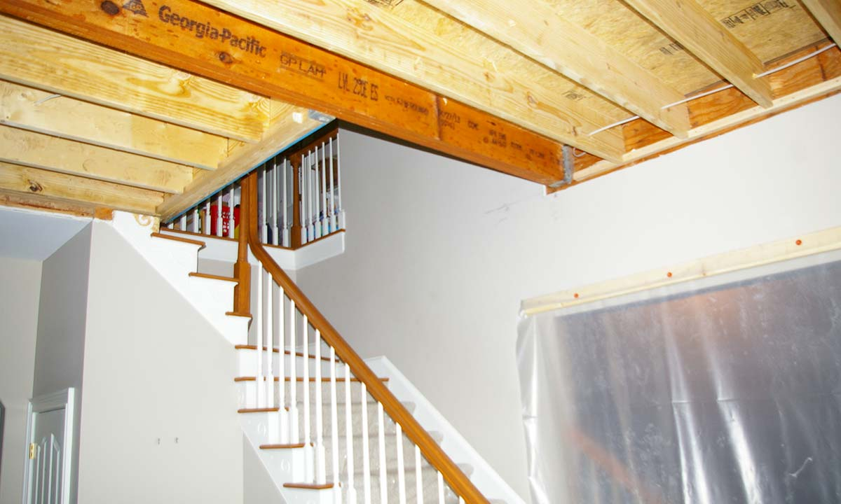 Two Story Foyer Conversion Cost : Convert to vaulted ceiling cost energywarden