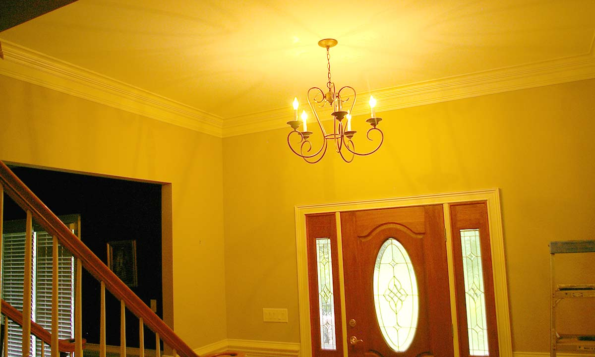 Two story foyer conversion how to add living space to - What is a foyer ...