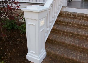 New front porch railing