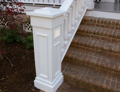 Front porch railing repairs