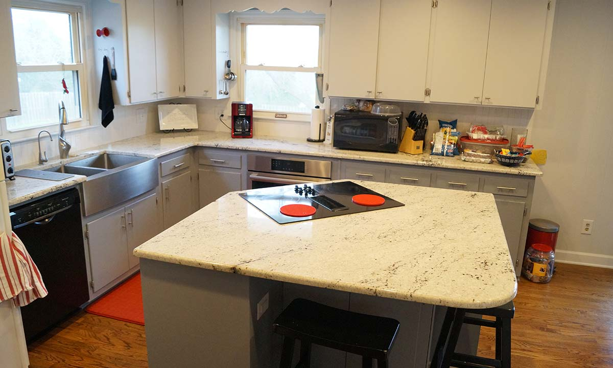 After this kitchen renovation renovation project