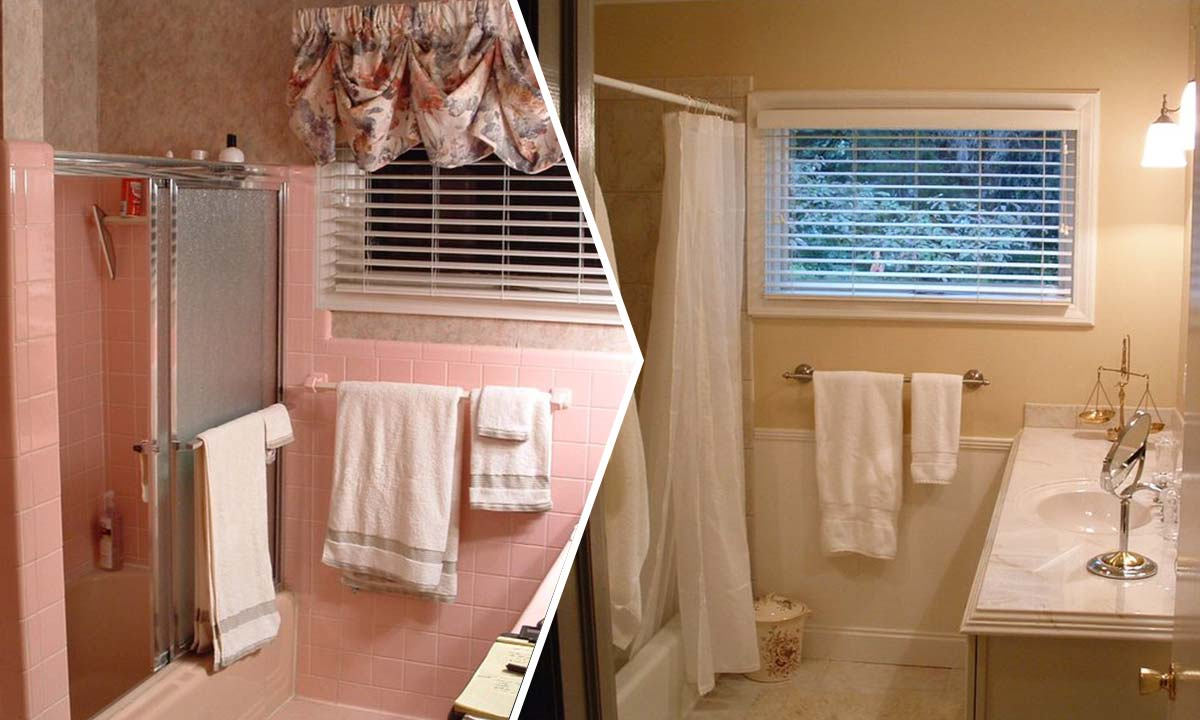 Home Upgrade With Bathroom Makeovers Bathroom Remodeling Ideas - 1950s bathroom remodel