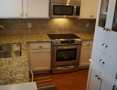 Condo kitchen remodel – huge difference, small space