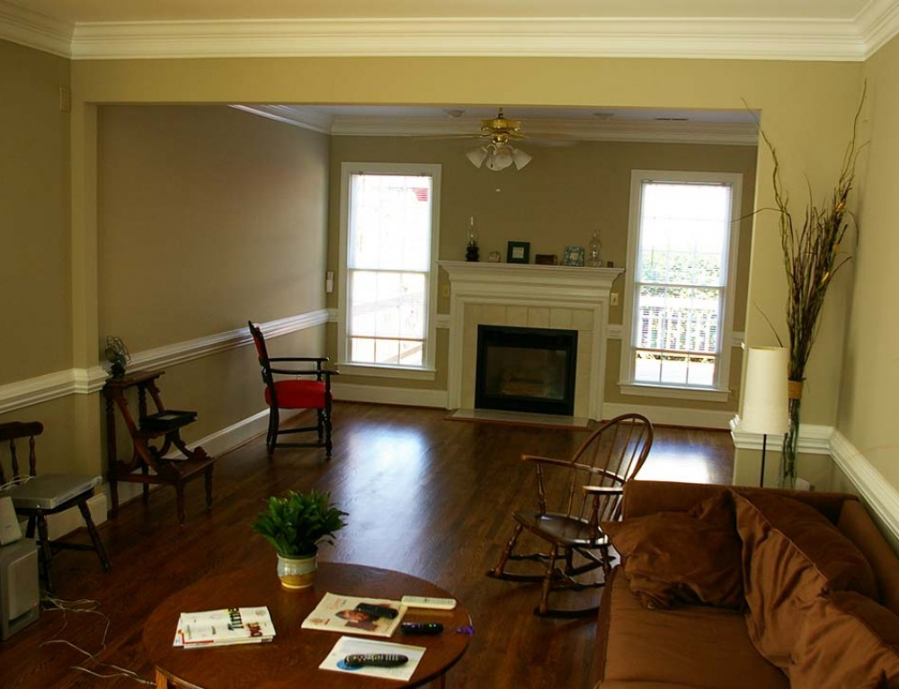 Converting Two Story Foyer To Room : Two story foyer conversion how to add living space