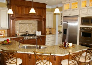 """""""After"""" photo of complete kitchen remodel"""