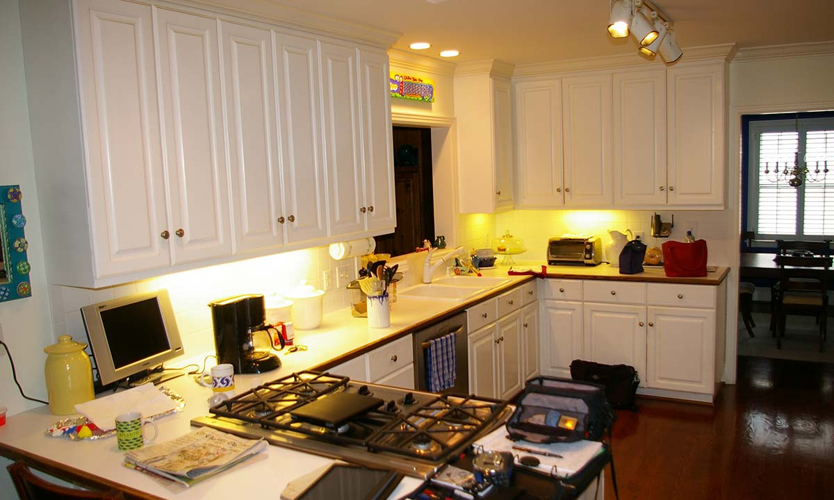 Before kitchen revamp photo