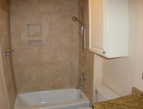 Master bath and powder room remodel