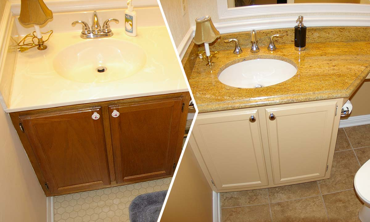 Master Bathroom + Powder Room Remodel | Bathroom Remodeling Ideas