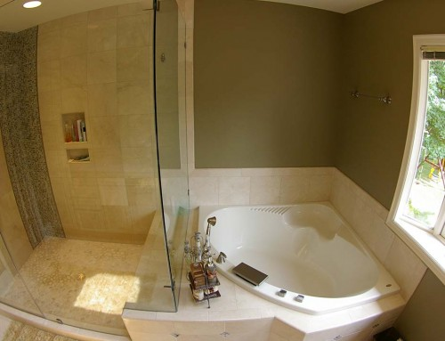 master bathroom remodel creating a spa like atmosphere