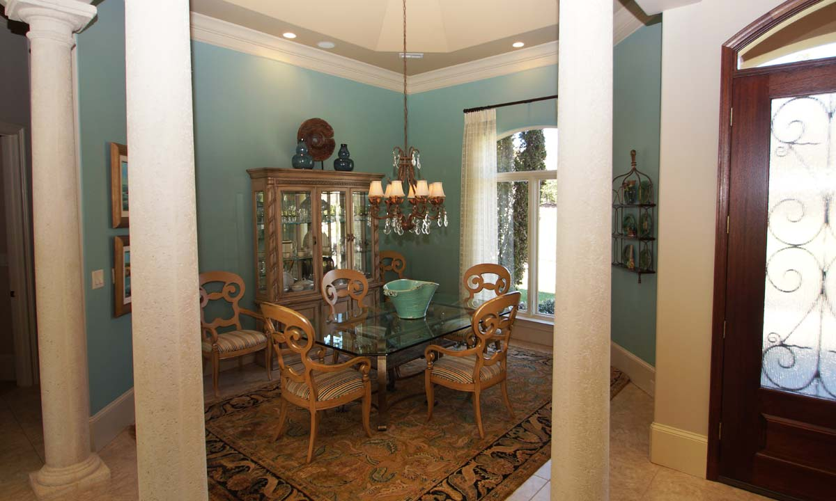Photo of the dining room