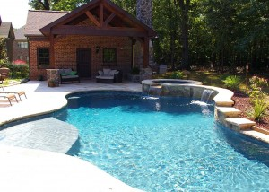 New pool house addition
