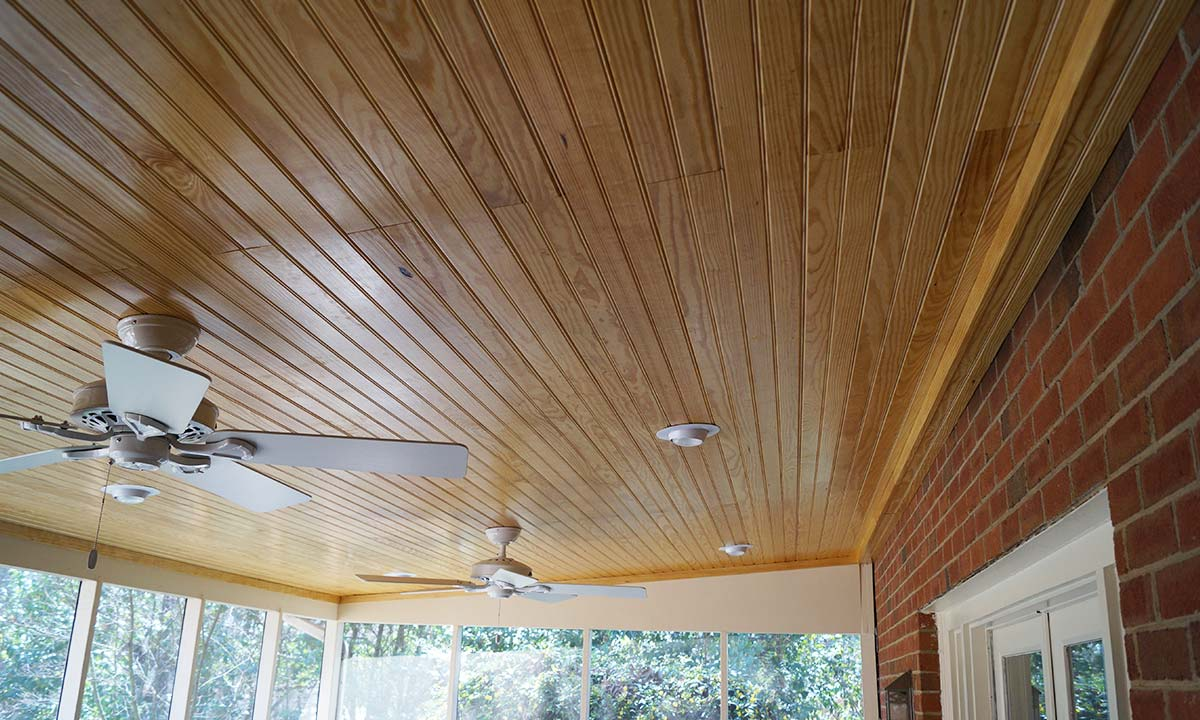 Screened Porch Ceiling Repairs Charlotte Home Repairs