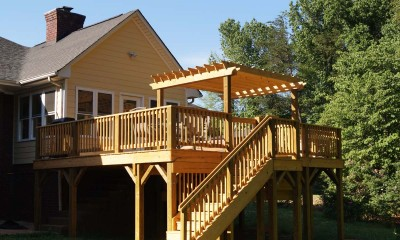 Completed screened porch to sunroom conversion in Charlotte, NC