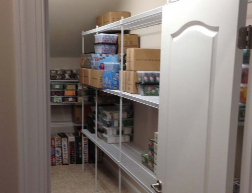 Storage closet renovation