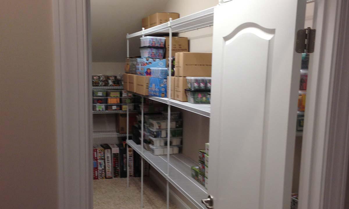 Storage Closet Renovation