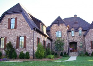 Tuscan country manor custom built home in Union county North Carolina