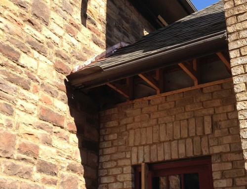 Wall replacement and roofing repairs