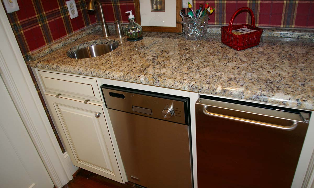 ... New Wet Bar After Renovation