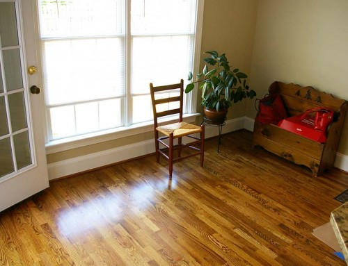 Hardwood floor repairs and renovation