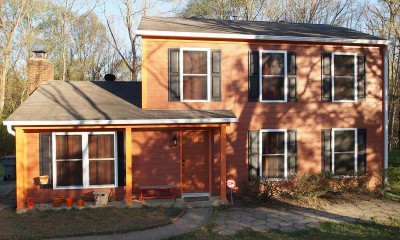 Exterior photo of home after full renovation and repairs