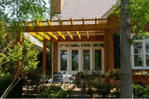 Outdoor patio and deck