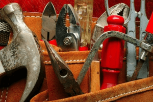Tools for home renovation project
