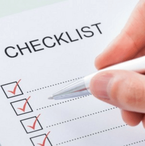 creating a holiday home repair checklist
