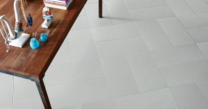 Carpet tile – porcelain tile with fabric look