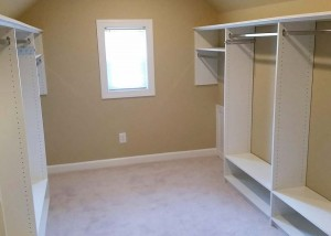 New Master Bedroom Closet