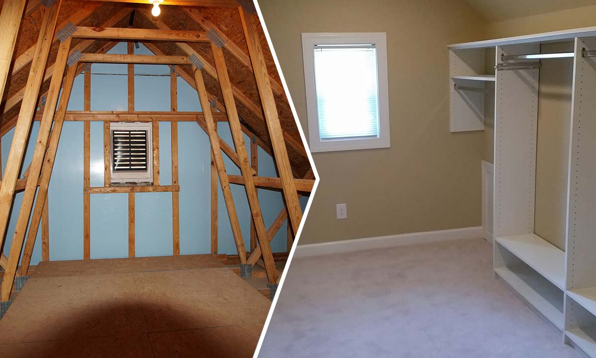 Attic Conversion Planning A Second Phase Charlotte Home