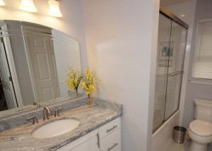 Bathroom remodel in Charlotte, NC - going basic to beautiful