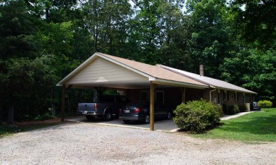 After - new carport addition